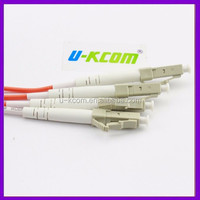 Telecom LC 2mm Duplex Fiber Optical Patch Cord LC