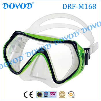 New design & Professional tempered glass scuba diving mask