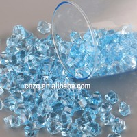 Acrylic Crystal Ice Rock Stones for Aquarium Vase Gems Table Decorating