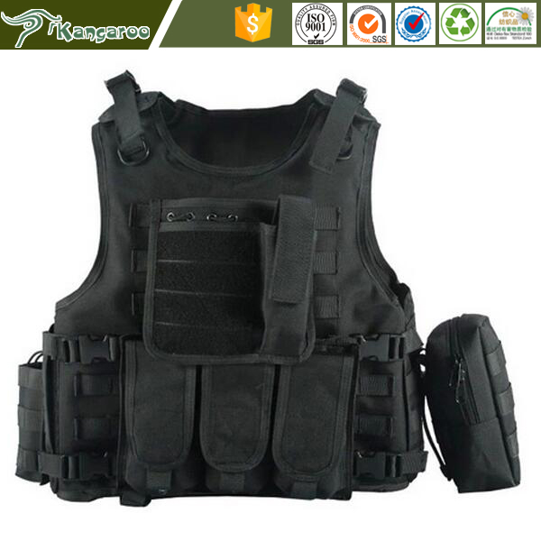 Motocross 600D nylon full body armor ballistic Titan Assault Tactical bullet proof vest