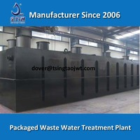 Underground Domestic Sewage Waste Water Treatment Systems