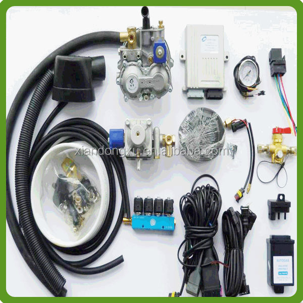 CNG/LPG sequential injection system for conversion kit