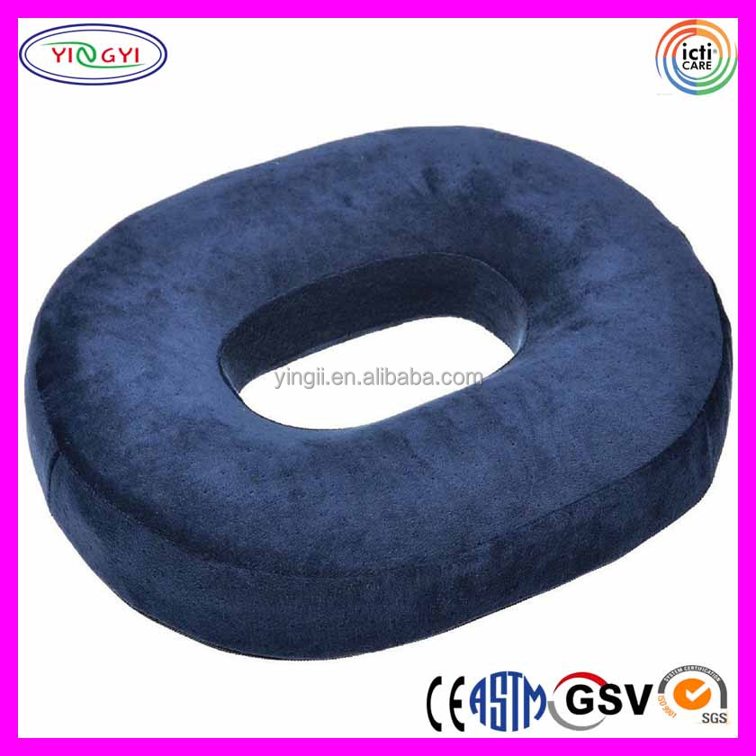 E861 Medical Foam Donut Seat Cushion Posture Corrector Tailbone Back Pain Round Hole Cushion