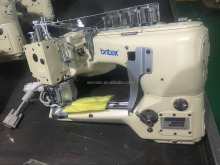BR-62G-01MS-D Flat Seamer Direct Drive Arched Arm 4 Needle 6 Thread Sewing Machine