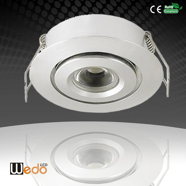 2014 Original Patent uL cUL Home Store Decor Hot Products Mini Led Spot Light Downlights Cabinet lights 3W 120-150LM