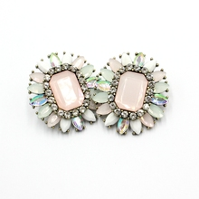 New Design Fashion Wedding Earrings Western Style Vintage Big Stud Earrings Girls Statement Earrings For Party Occasion