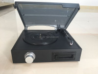 DS-2011 Cassette turntable player, records and tapes, 3-speed turntable