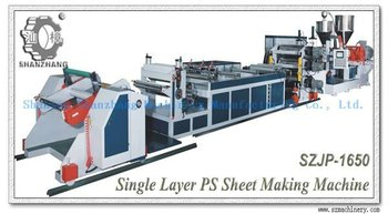 Multi layer PP Sheet Extruder Machine PS plastic sheet