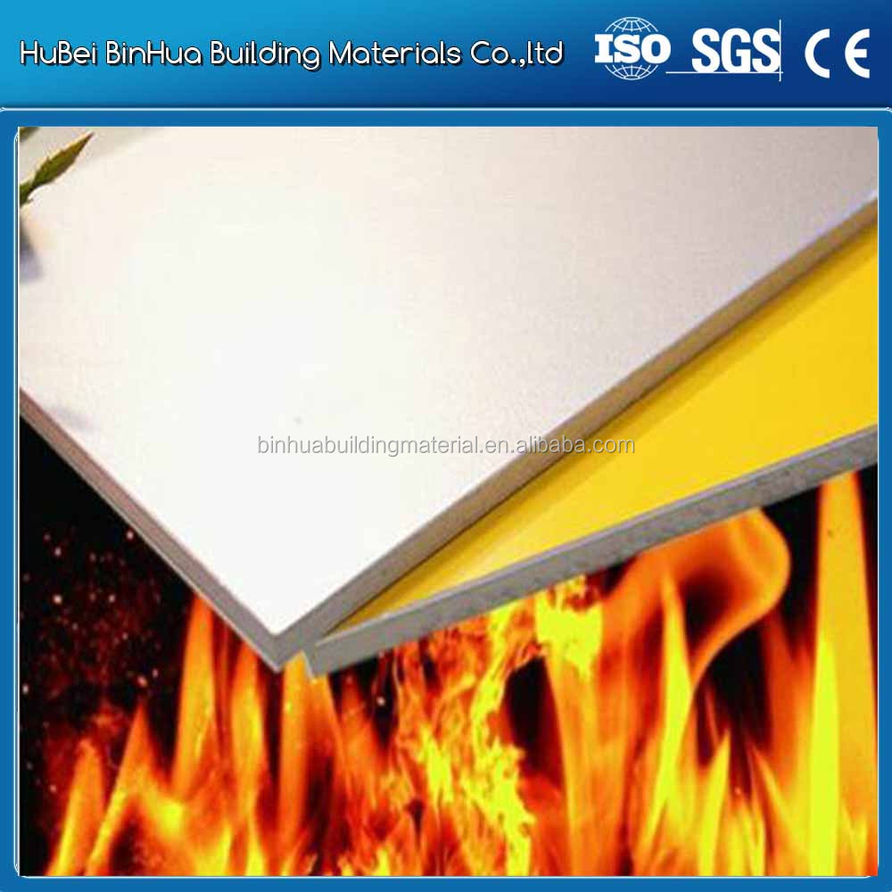 Fireproof Aluminum Composite Panel For Construction Materials