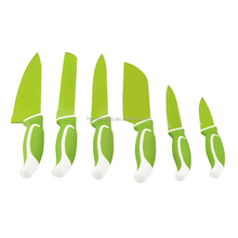 Set of 6 Pieces Ceramic Coating knives with PP Blade Cover