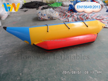 Hot sale inflatable fly fish banana boat/inflatable adult boat