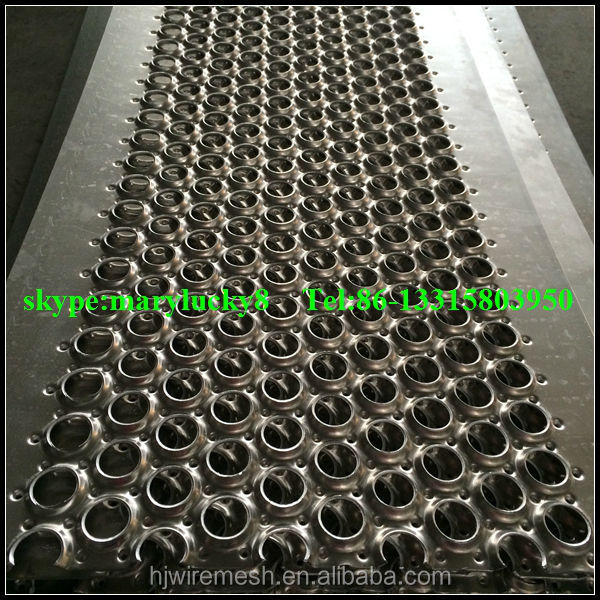 non-slip perforated planks\perforated steel plank/perforated metal planks