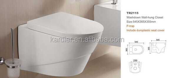 2015 Hot sale ceramic toilet for concealed cistern