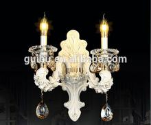 New arrival modern ceramic crystal wall light