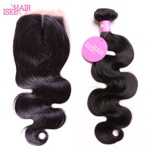 2017 New Arrival Brazilian Hair Body Wave Lace Closure 4*4 Human Hair Lace Closure