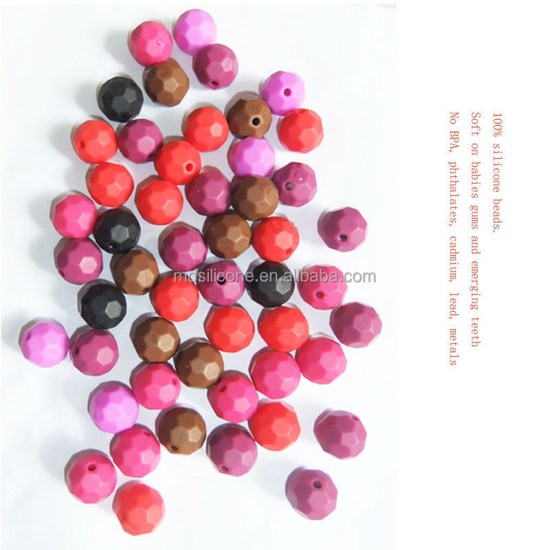 Wholesale New Age Products 15mm Silicone Teething Beads For Baby Teething