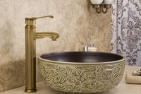 2014 brass top-selling antique outdoor faucet