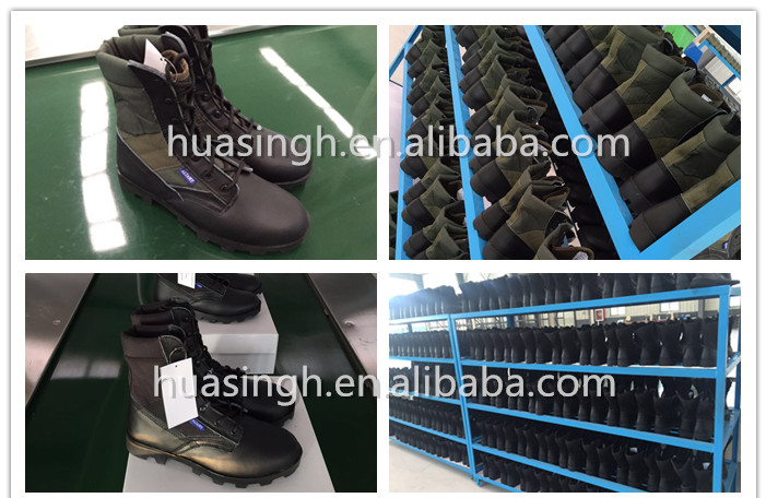 army troops widely used G.I. type Altama desert boots with Panama rubber sole