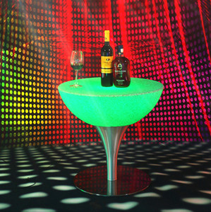 Best selling led rechargeable bar chair and table sets color change for nightclubbaroutdoor events