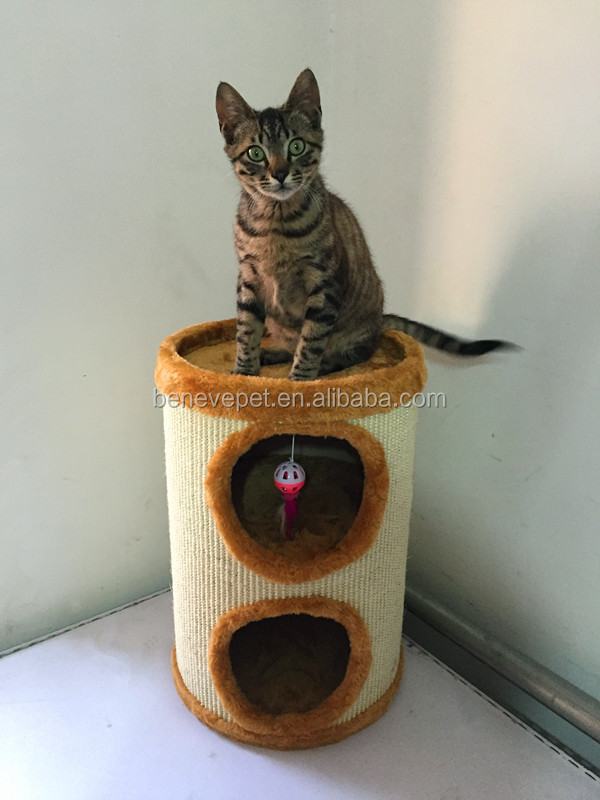 Cat climbing frame box cat nest tunnel pet products