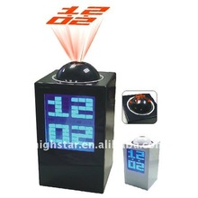 2016 new led alarm clockprojection alarm clock with digital calendar