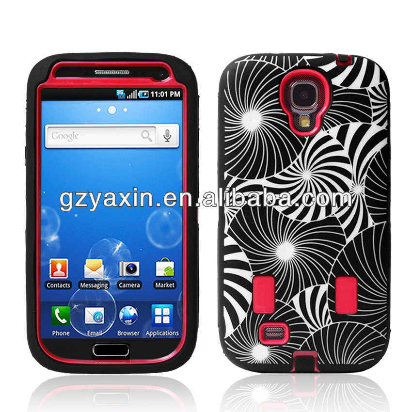 For samsung galaxy s 4 case,hot sales for samsung galaxy s4 phone shockproof defender case