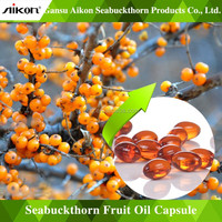 China Seabuckthorn Fruit Oil Soft Capsule