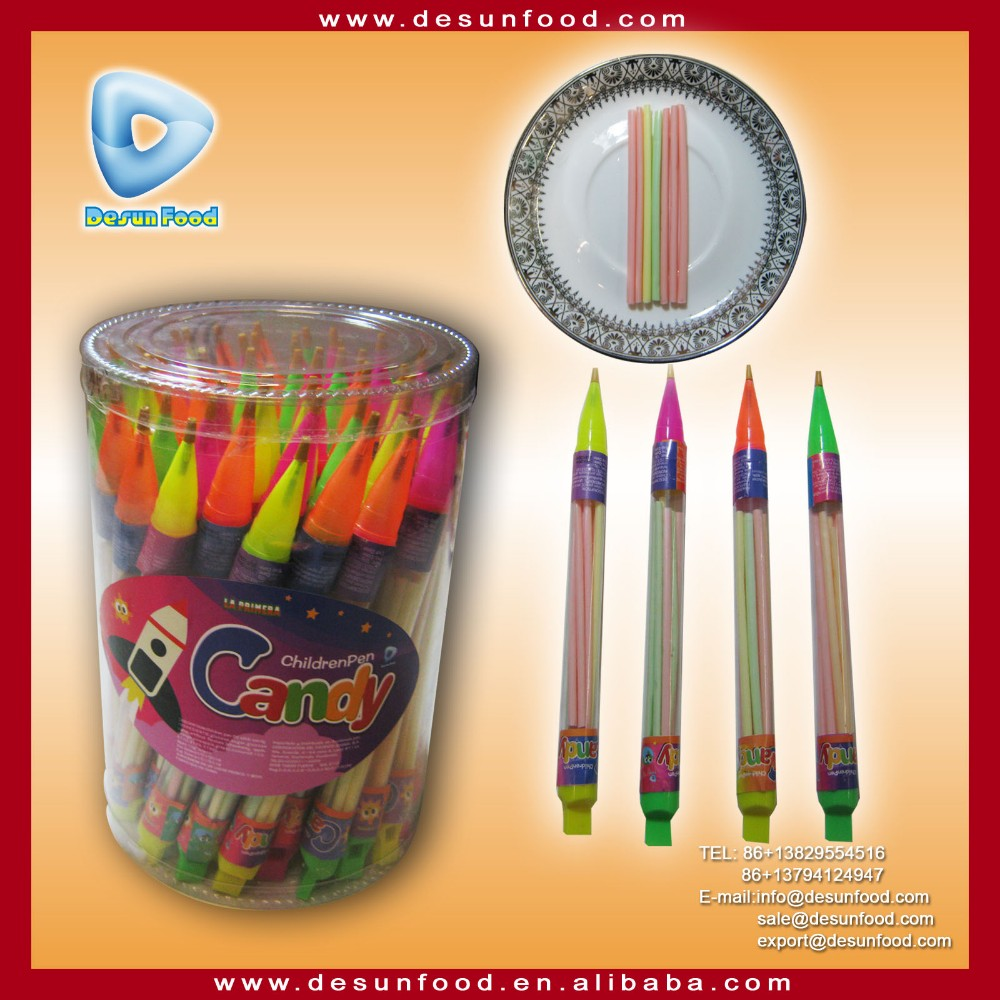 Children pen CC stick candy toy
