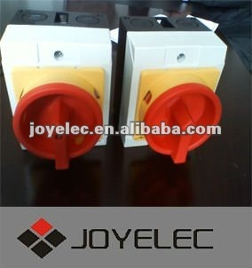 GLD12 UNIVERSAL ROTARY CHANGEOVER SWITCH BOX