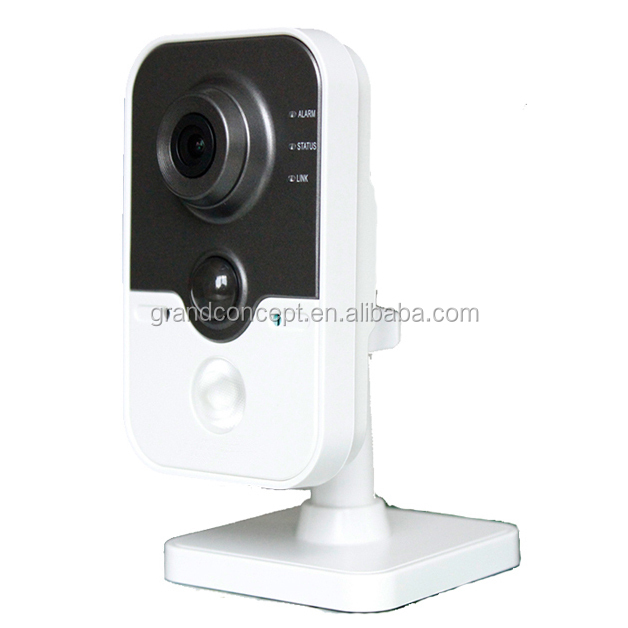 HD720p Video PIR DWDR 64GB DS-2CD2412F-I(<strong>W</strong>)<strong>1</strong>.3MP IR Cube Network Camera