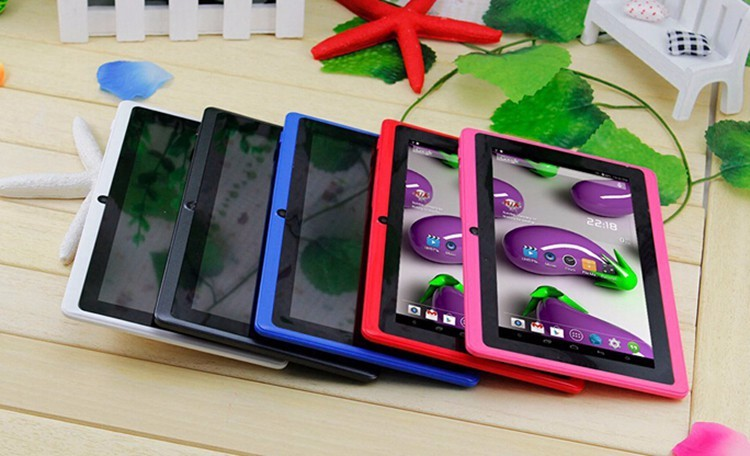 China manufacture 7 inch Allwinner A33 Q88 Android 4.4 custom cheap Tablet