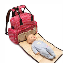 safety five different kinds of Back method mummy diaper bag Comes with Urine pad