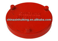 Threaded Concentric Reducer ductile iron cap