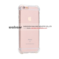 TPU clear bumper case for iPhone 6 6s
