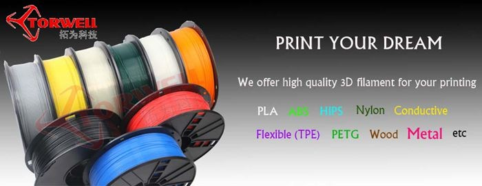2017 Torwell 1.75mm ABS & PLA 3D pen filament 5 meters for 3D drawing pen
