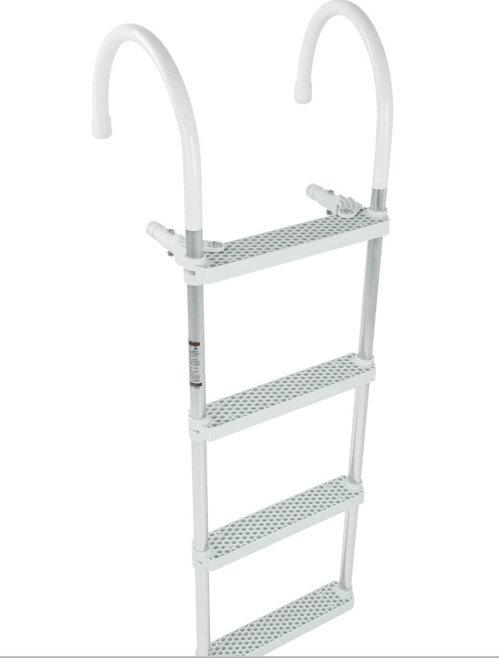 platform boarding wooden pilot ladder