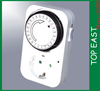 Germany 220v 24-Hour Indoor manual timer switch