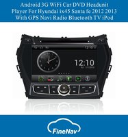 Android OS S150 3G WiFi Car DVD Player For Hyundai ix45 Santa fe 2012 2013 With GPS Navi Radio Bluetooth TV iPod