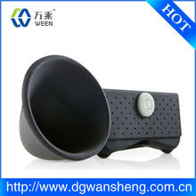 Mode siliconen speaker/Populaire siliconen speaker voor iphone5, Luidspreker voor iphone