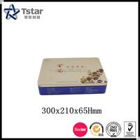 Luxury wholesale custom gift tin box packaging