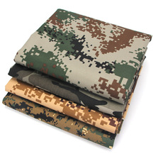 Factory direct 100 cotton twill 16x12/108x56 digital pixel camo fabric