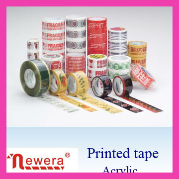 Bopp custom printed packaging tape