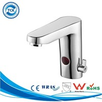 Truly hands free sink taps hot&cold water automatic shut off faucet