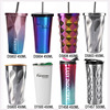 750ML Chin Rest Water Bottle BPA Free Sports Water Bottle With Straw