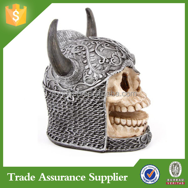 rsin crafts piggy bank skull money box for home decoration