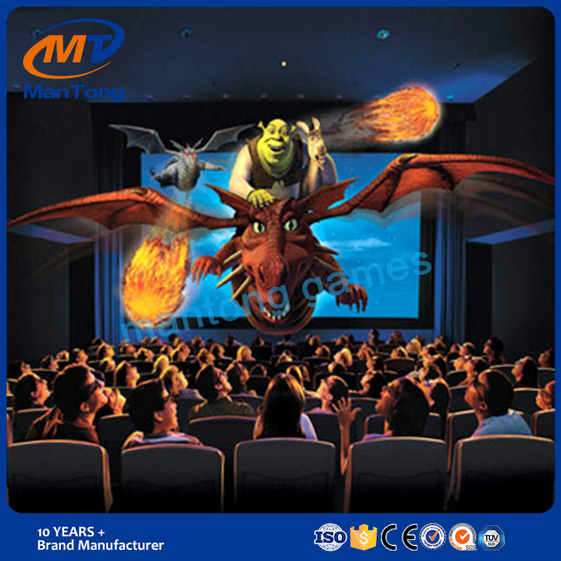 China suppliers professional Truck Mobile 5D Cinema / 7D game 9D Cinema Kino Cabin
