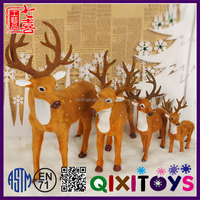 Cool Christmas gift ideas reindeer stuffed animals wholesale