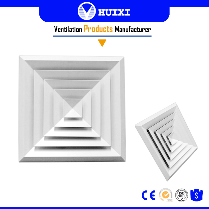 24*24 Ceiling HVAC Air Diffuser Manufactures