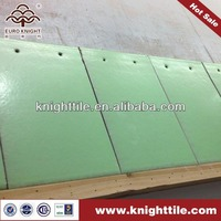 small size green shingles clay roof tiles manufacturer