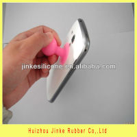 useful silicone acetabula accessories for phone,for iphone 4/4s or 5 accessories